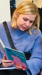 Katrine Bech, pædagogiskassistent i vuggestuen